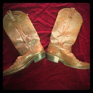 👢 VTG 70's Dan Post cowboy boots 👢